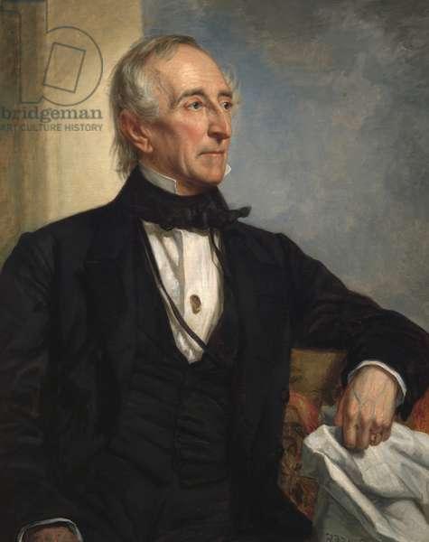 John Tyler (1790-1862), 1859 (oil on canvas)