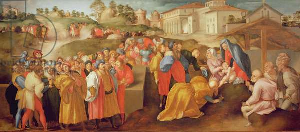 Adoration of the Magi, known as the 'Benintendi Epiphany' (oil on panel)