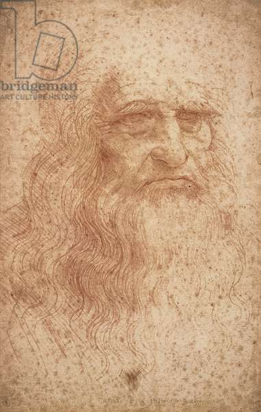 Self portrait, c.1512 (red chalk on paper)