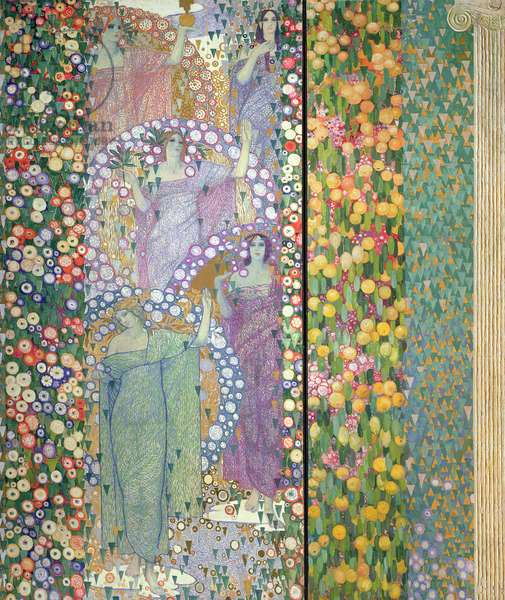 Classical Spring, 1914 (tempera, oil & gold on canvas)