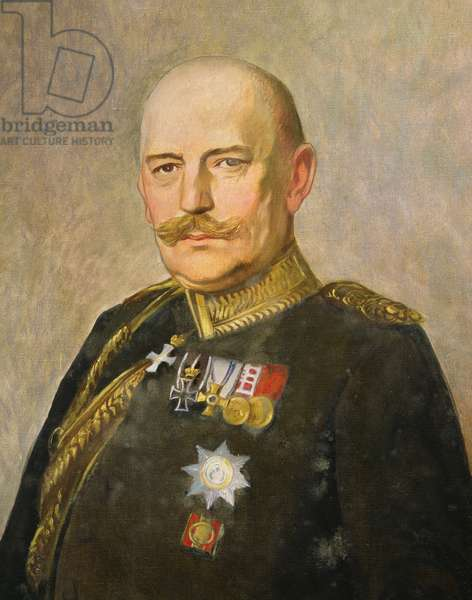 General Helmuth von Moltke the Younger, c.1916 (oil on canvas)