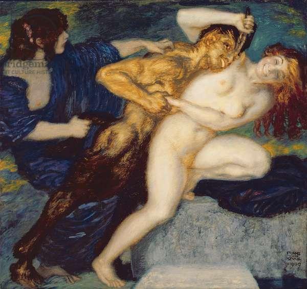 Scherzo, 1909 (oil on canvas)
