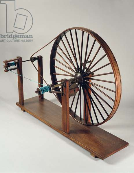 Reconstruction of da Vinci's design for a thread twister (wood)