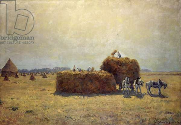 The Harvest (oil on canvas)