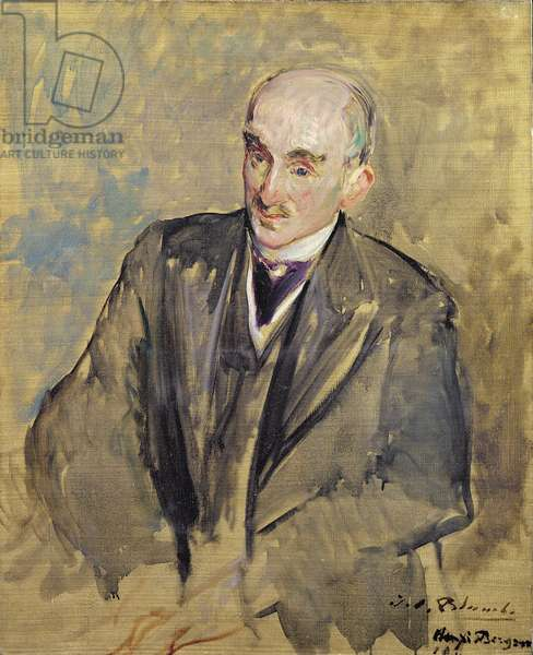 Study for a portrait of Henri Bergson (1859-1941) 1911 (oil on canvas)