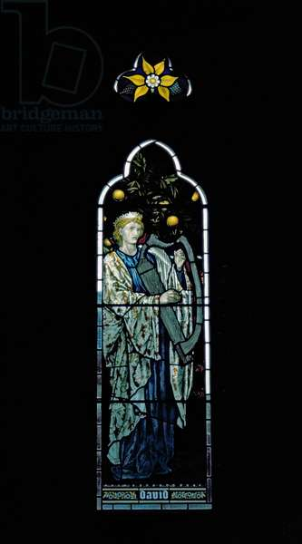 David (stained glass window)
