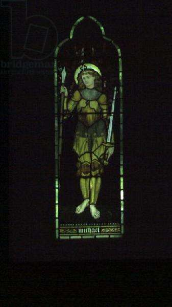 St. Michael (stained glass window)