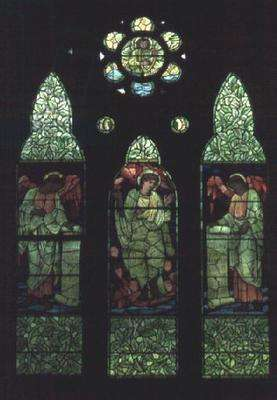 Christ's Ascension (stained glass window)