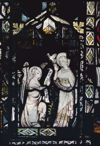The Annunciation (stained glass)