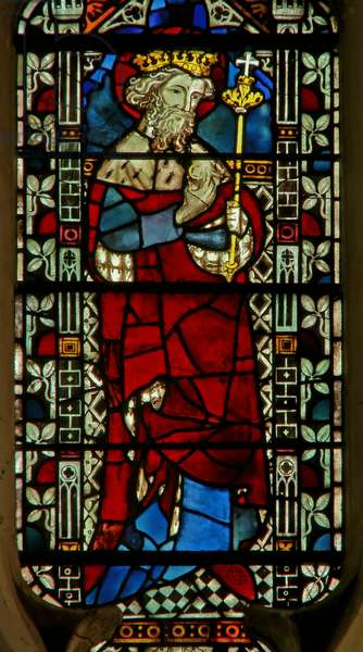 Window depicting Edward the Confessor (stained glass)