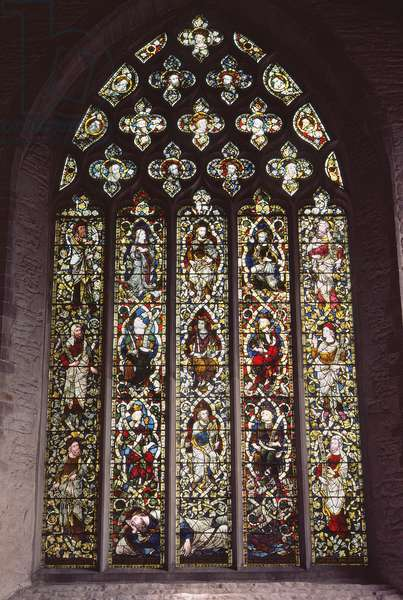 Saint Laurence window (stained glass)