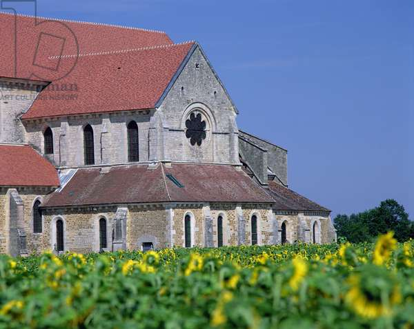 Pontigny Abbey (photo)