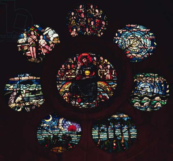 Rose window (stained glass)