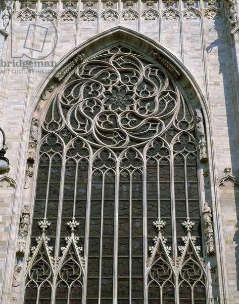 Side east window, early 15th century (photo)