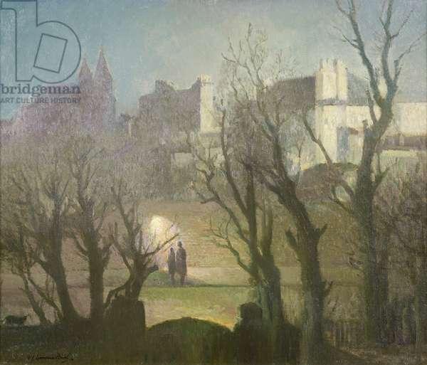 St John's Wood (oil on canvas)