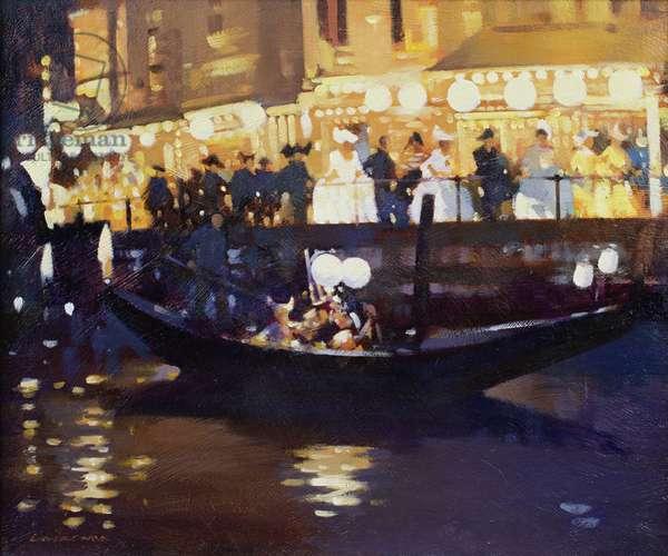 Venice Carnival (oil on canvas)