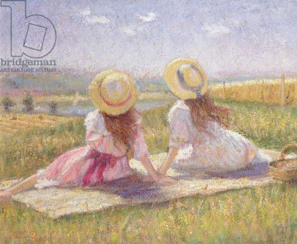 The Picnic (oil on canvas)