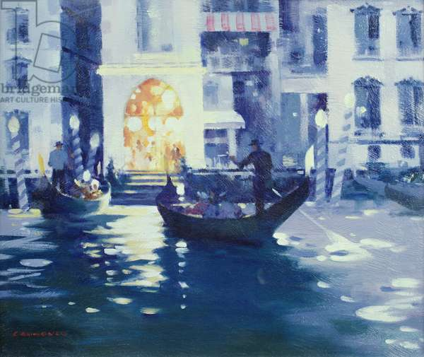 Part at Venice (oil on canvas)