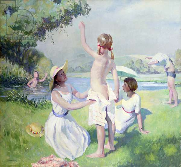 Summer (oil on canvas)