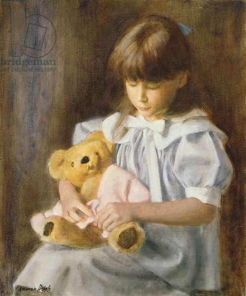 Teddy (oil on canvas)
