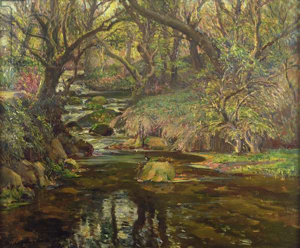 The Dipper's Playground, 1948 (oil on canvas)