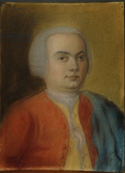 Carl Philipp Emanuel Bach, c.1733 (pastel on paper)