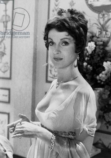 Josephine Ou La Comédie Des Ambitions Par Robertmazoyer Avec Daniele Lebrun (As Josephine De Beauharnais) 22 juin 1978 (photo b/s)