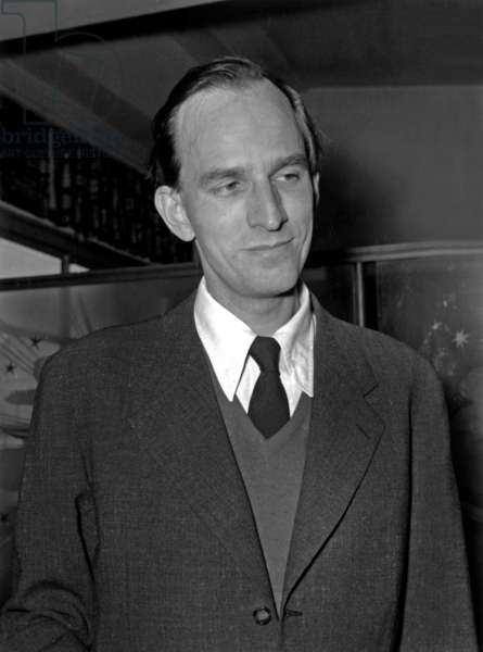 Swedish Director Ingmar Bergman (1918-2007) on April 21, 1959 (b/w photo)