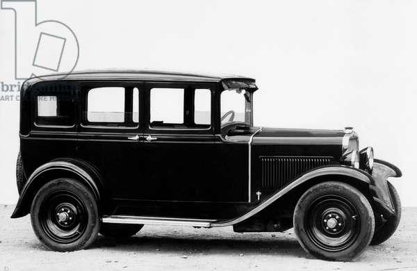 Fiat 514 Car Produced in 1929-1932 (b/w photo)