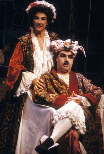 Play The Bourgeois Gentleman By Moliere With Jerome Savary As Mr Jourdain in Paris November 06, 1989 (photo)