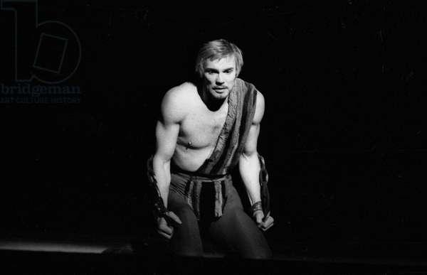 Russian Dancer Vladimir Vassiliev during Rehearsal of Ballet