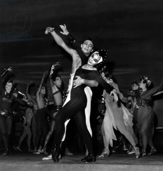 Ludmilla Tcherina and Steven Grebel in Ballet