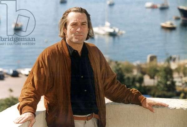 Robert De Niro at Cannes Festival May 1991 (photo)