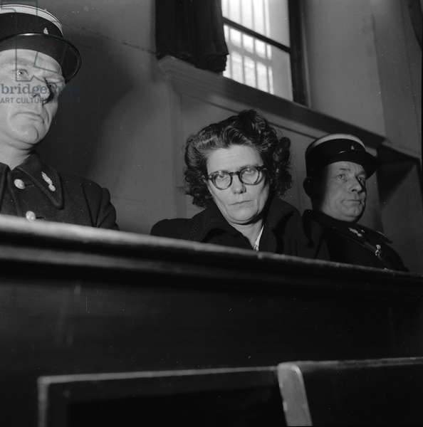 Trial of Solange Bleau, poisoner, 1952