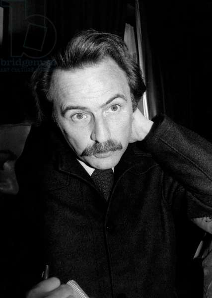 The French Writer Regis Debray Received Femina Prize For his Book Snow Is Burning November 28, 1977 (b/w photo)
