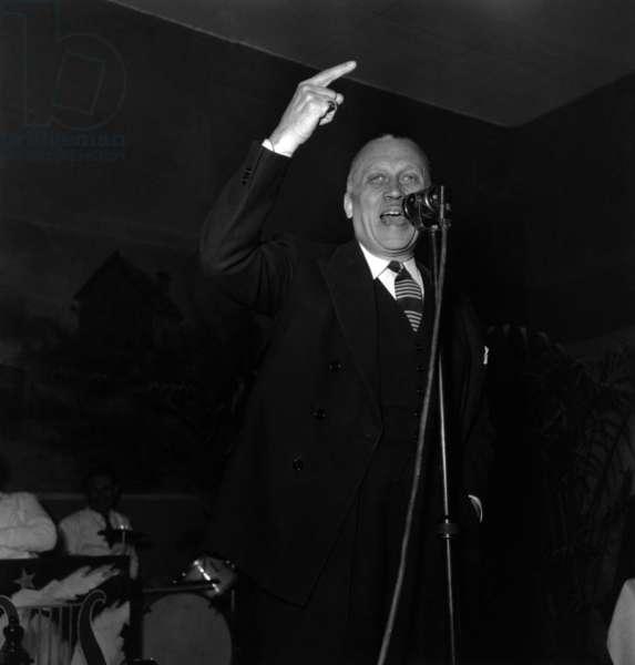 Jean Marsac April 23, 1949 (b/w photo)