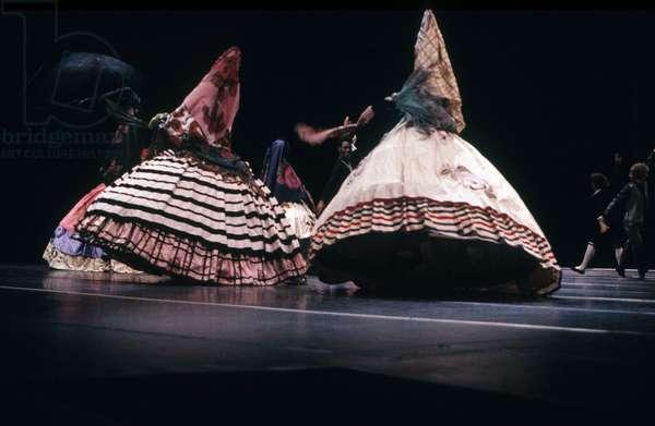 Ballet By Maurice Bejart Souvenir De Leningrad in Paris January 20, 1988 ( Bejart Ballet Lausanne) (photo)