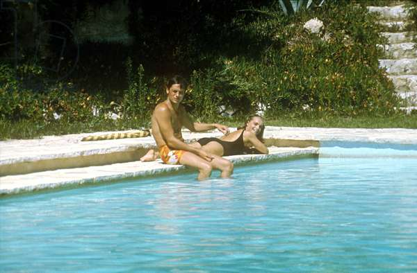 La Piscine De Jacques Deray Avec Alain Delon Romy Schneider En 1969 (photo)