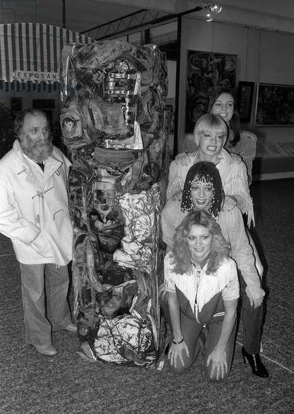 Cesar et les filles du Crazy Horse