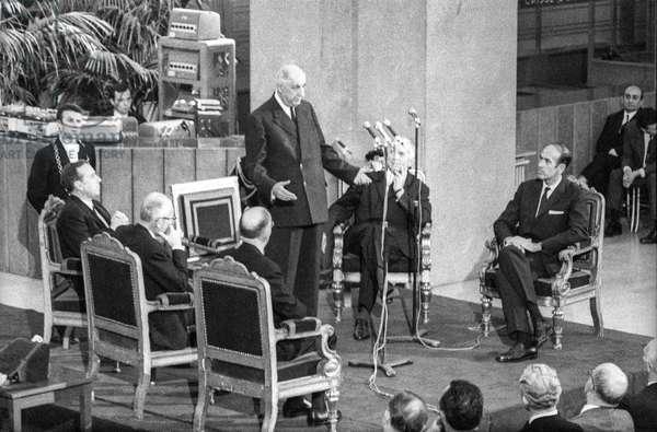 General De Gaulle --- President Charles de Gaulle speaking