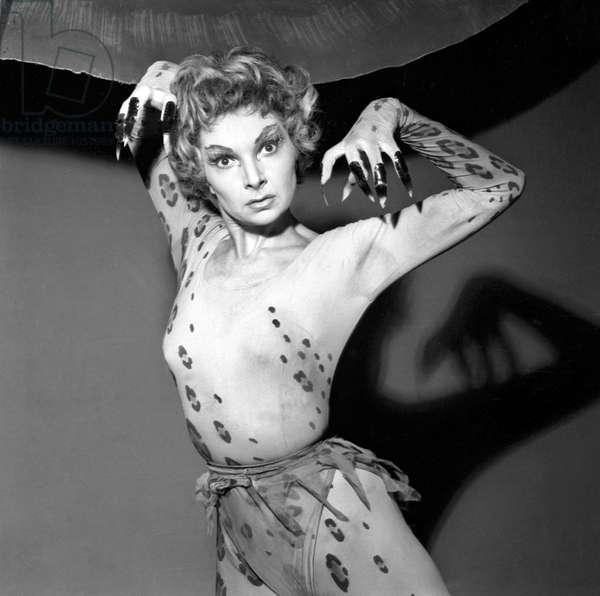 Colette Marchand (b/w photo)