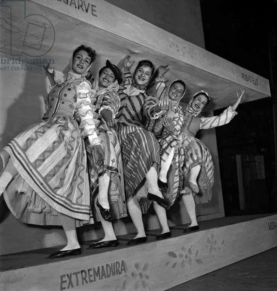 Portuguese ballets (b/w photo)