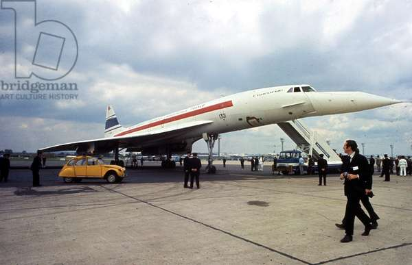 The Concorde at The Salon Du Bourget, Paris, May 26, 1971 (photo)