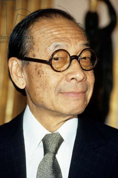 Architect Ieoh Ming Pei in December 1985 (photo)
