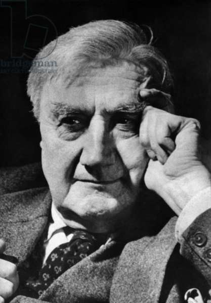 Ralph Vaughan Williams, c.1950 (b/w photo)