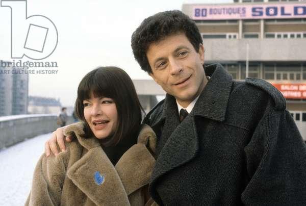 Serie Televisee Medecins De Nuit Avec Catherine Allegret Et Georges Beller 1985 (photo)