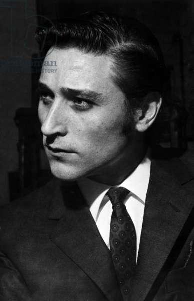 Antonio Gades (Antonio Esteve Rodenas) Spanish Flamenco Dancer, at The Festival Des Nations, Paris, March 3, 1969 (b/w photo)