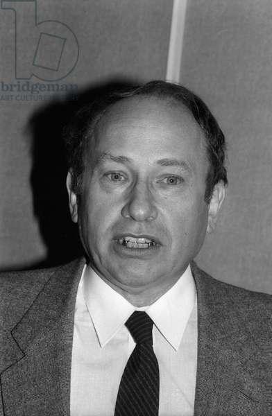 Hubert Prevot (b/w photo)