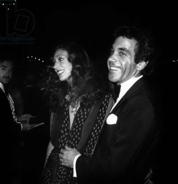 Marisa Berenson and her 2Nd Husband Jim Randall at Party For Premiere of Film
