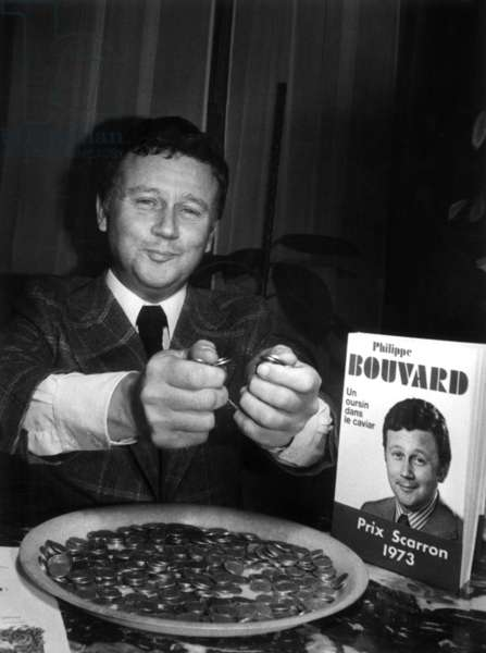 French Journalist Philippe Bouvard and his Book